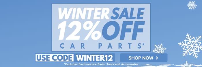 12% off Carparts