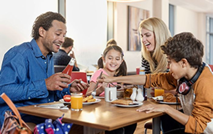 Unlimited Breakfast from £8.50 plus Kids Eat Free at Travelodge