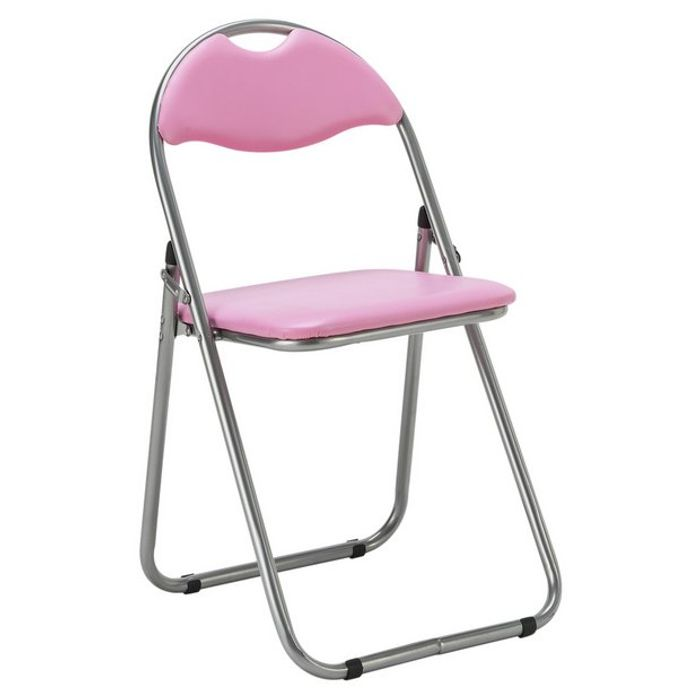 Awesome Argos Home Padded Folding Office Chair Pink 6 99 Lamtechconsult Wood Chair Design Ideas Lamtechconsultcom