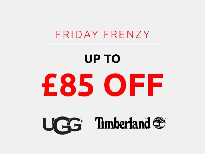 Save up to £85 on Ugg & Timberland | Frenzy Friday