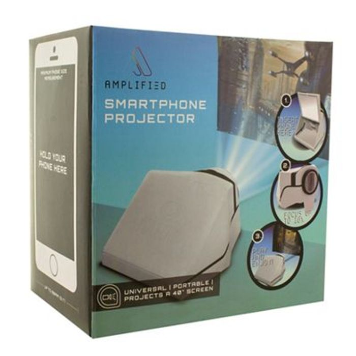 Amplified - Smartphone Projector