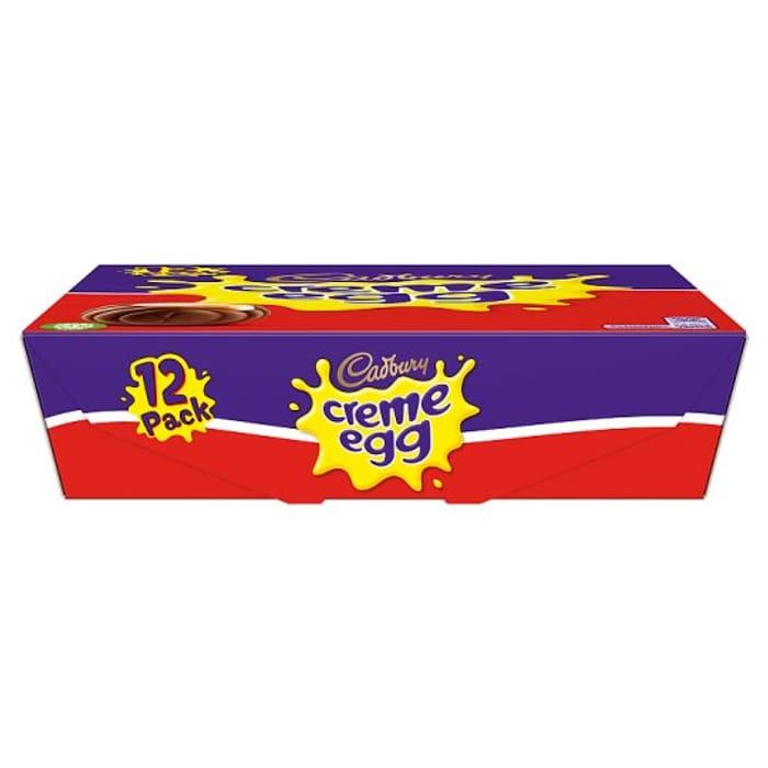 Cadbury Creme Eggs 12 Pack 475G