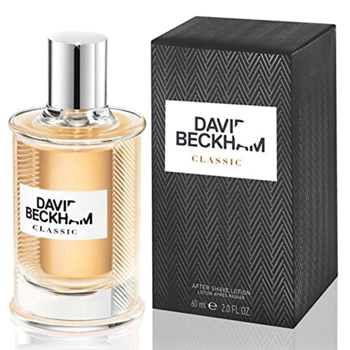 David Beckham Classic Fragrance Aftershave Lotion for Men, 60 Ml