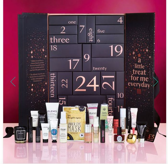 ** OUT OF STOCK ** Debenhams - Ultimate Beauty Advent Calendar worth over £150