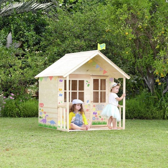 TP Wooden Meadow Cottage Playhouse Clearance