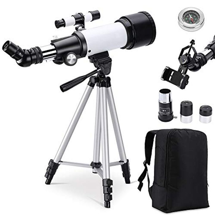 Astronomical Telescope 70AZ for Kids and Beginners