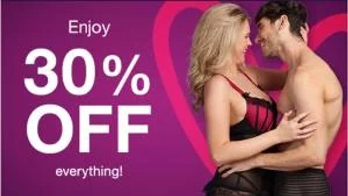 30% off Everything at Lovehoney - No Minimum Spend