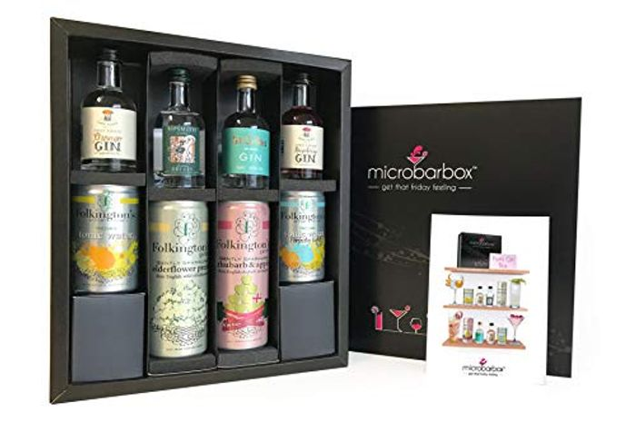 £10 off MicroBarBox Flavoured Gin Gift Set