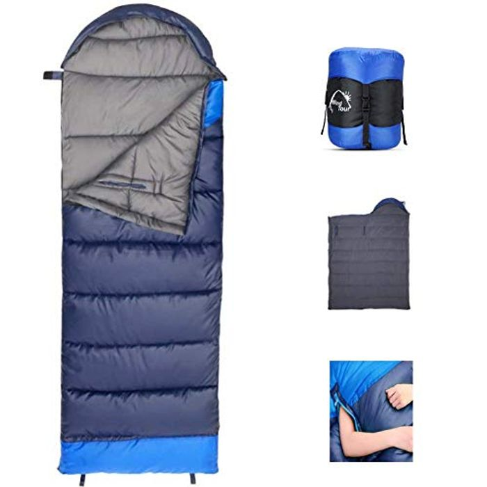 Rectangular Sleeping Bag Oversize Envelope Sleeping Bag