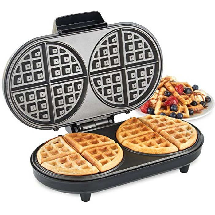 VonShef round Waffle Maker at Amazon Only £13.49