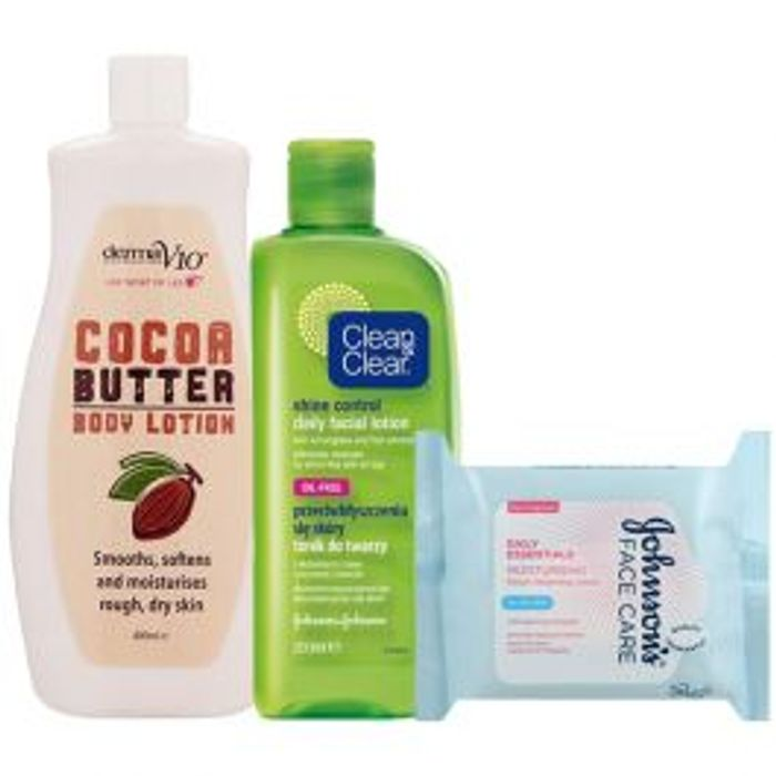 Skin Care Bundle at Poundshop Only £1