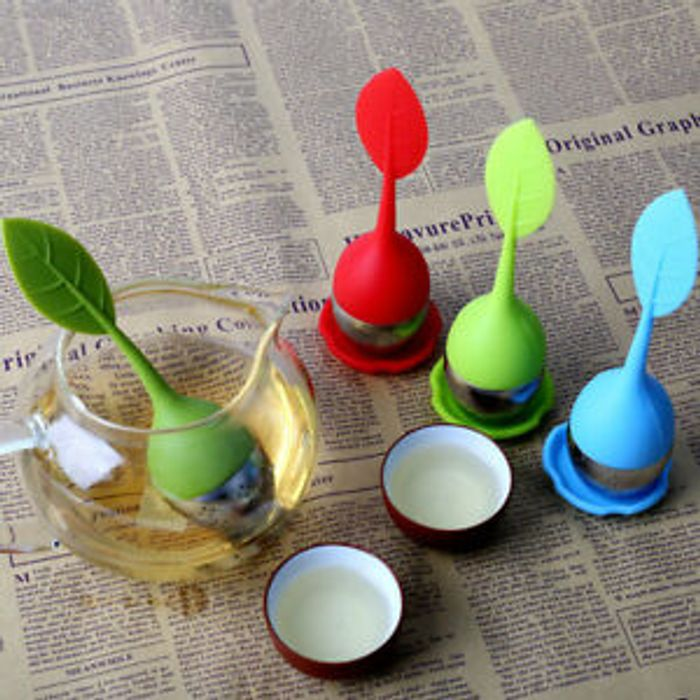 Home Gadget Tools Coffee Strainer Practical Silicone Resin Tea Filter