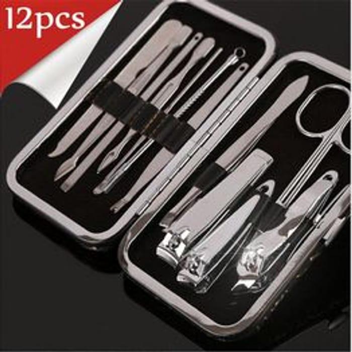 12Pcs Beauty Kit Finger Nail Care Pedicure