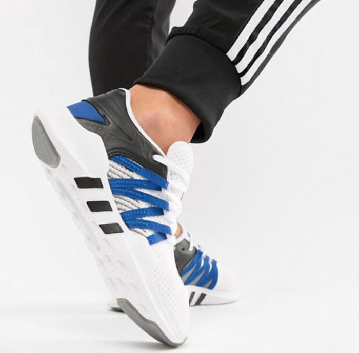 Adidas Originals EQT Racing Adv Trainers in White Now £36.90 Size 4,5,6,7 at ASOS