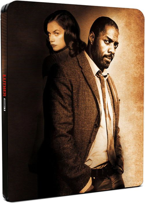 Luther: Series 1 - Limited Edition Steelbook Blu-Ray