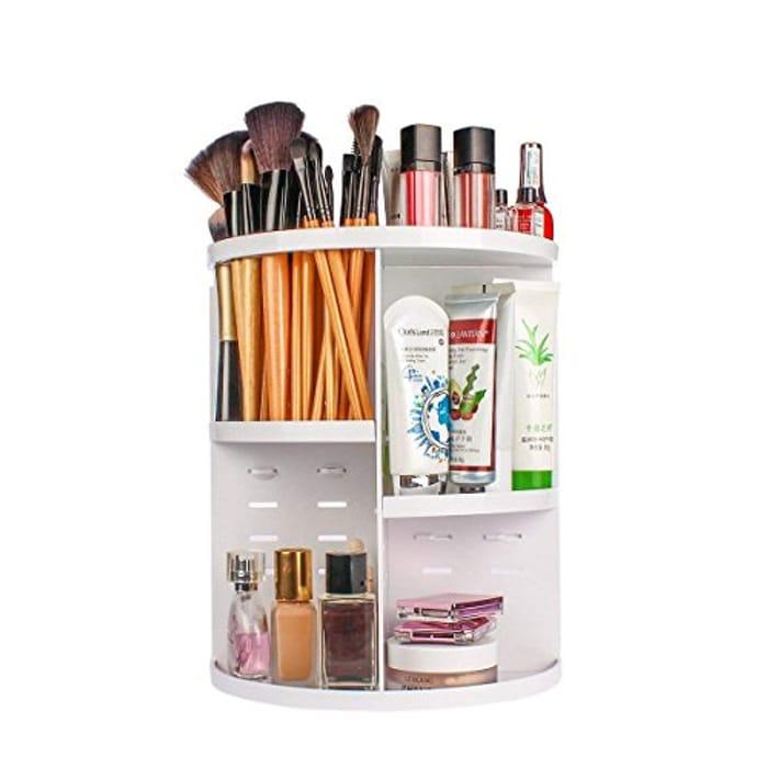 *STACK DEAL* Makeup Organiser, DIY 360 Rotating Adjustable