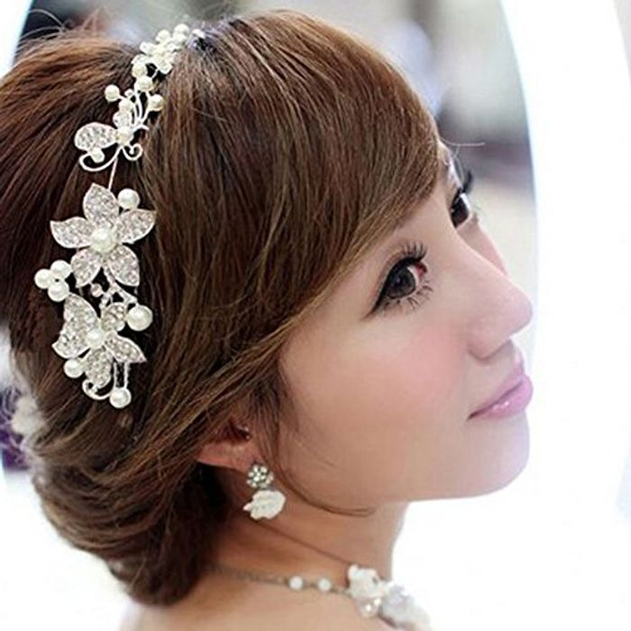 Rose Bridesmaid Headband