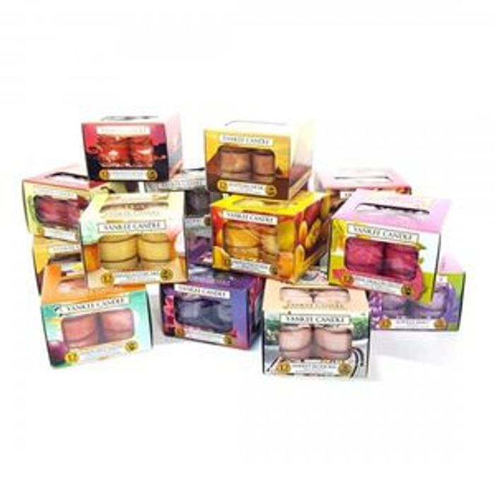 3 X 12pk Yankee Candle Tealight Boxes (36 Total)
