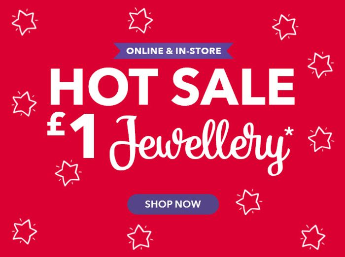 We Just Started £1 Jewellery