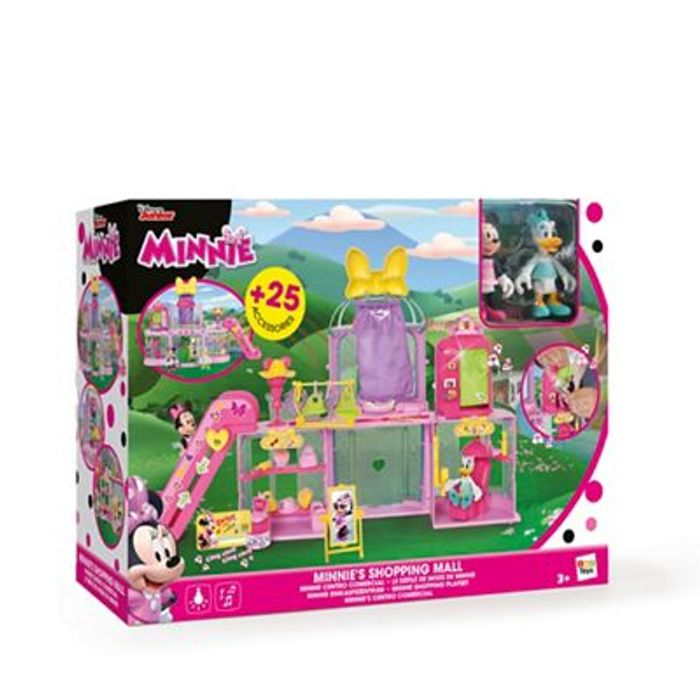 Minnie Mouse Shopping Mall Playset Best Price