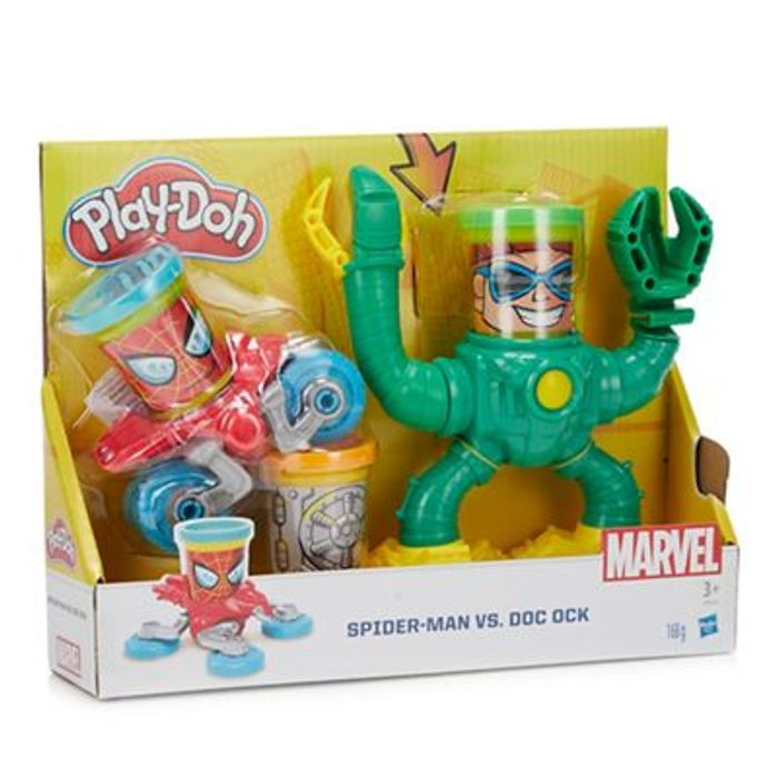 Spiderman Play-Doh Set