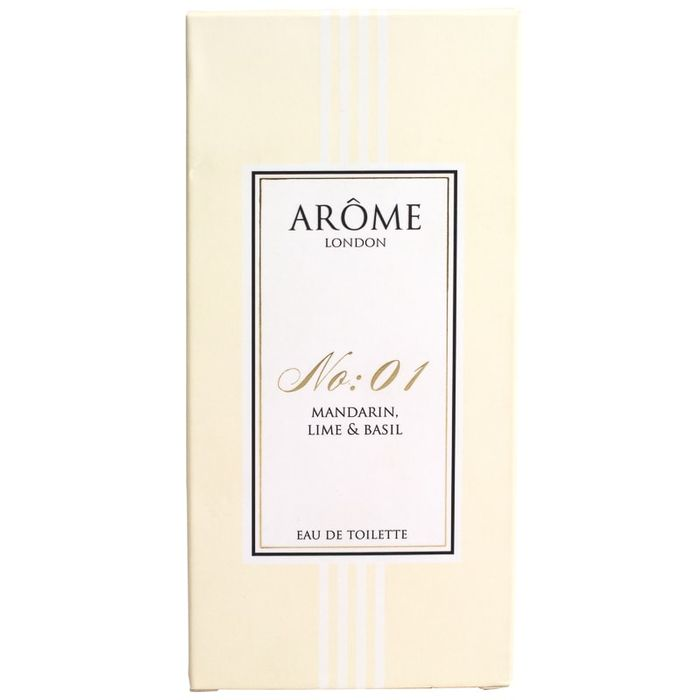 Arome No:1 Mandarin, Lime & Basil 100ml Edt