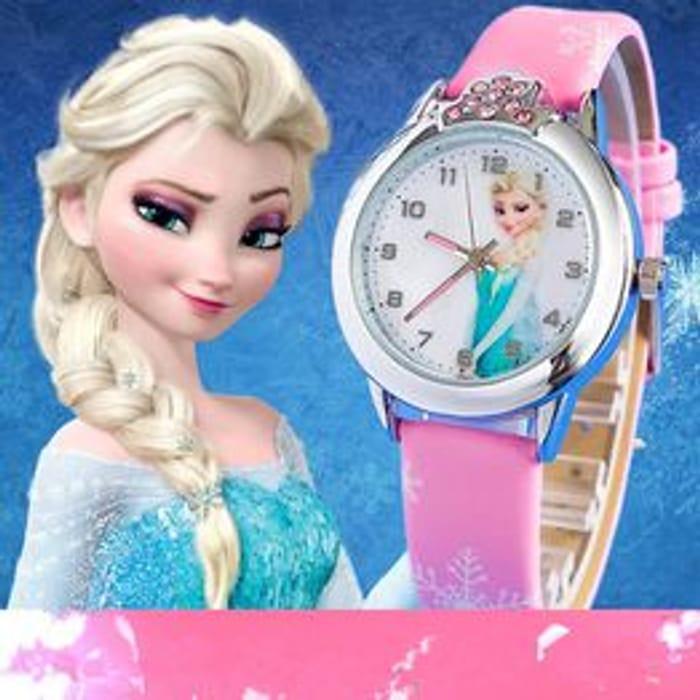 Cartoon Children Watch Princess Watches Fashion Kids