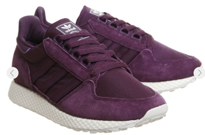 Adidas Forest Grove Trainers Red Night