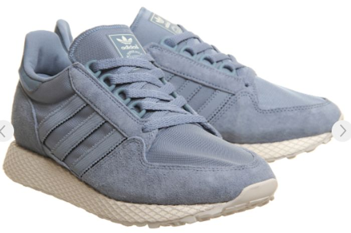 Adidas Forest Grove Trainers Raw Grey Cloud White Grey One