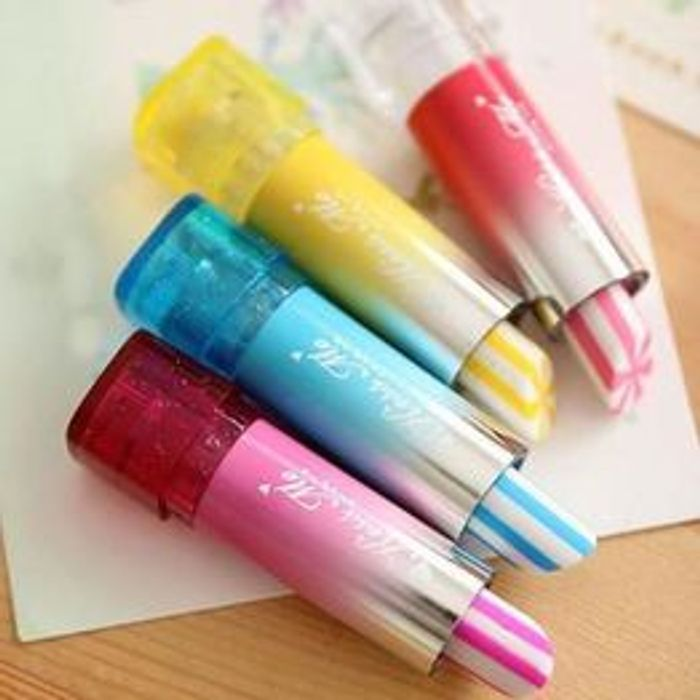 Lovely Children Lipstick Shaped Eraser