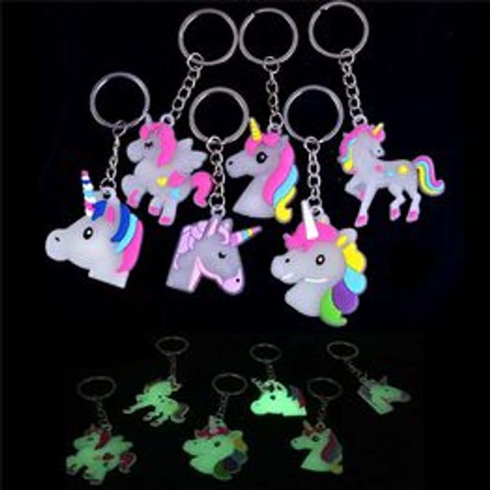 Unicorn Keychain Key Handbag Bag Charm