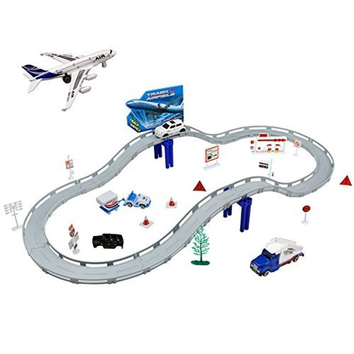 Racing Fun with this Car Track - NOW Half Price