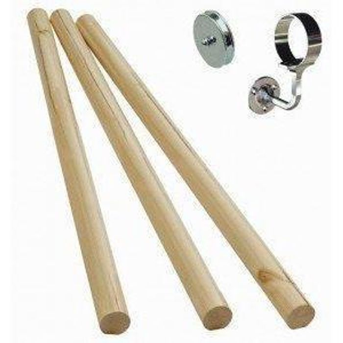Stair Handrail Kit with Brackets