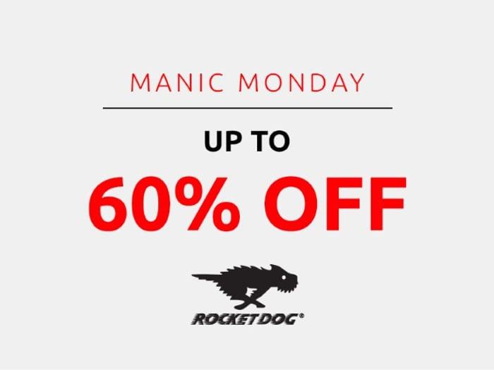 Save up to 60% on Rocket Dog | Manic Monday
