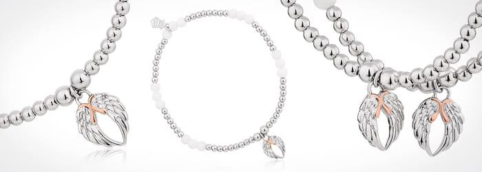 Free Angel Wing Heart Bracelet worth £89 When You Spend £199+