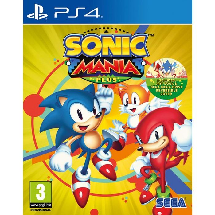 Sonic Mania Plus PS4 Game at Argos Only £15.99