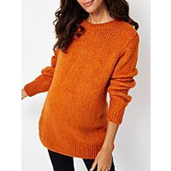 Maternity Chunky Knit Jumper - Half Price