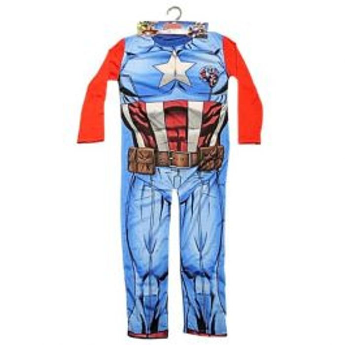 World Book Day ?  Captain America Dress up Age 5 to 6