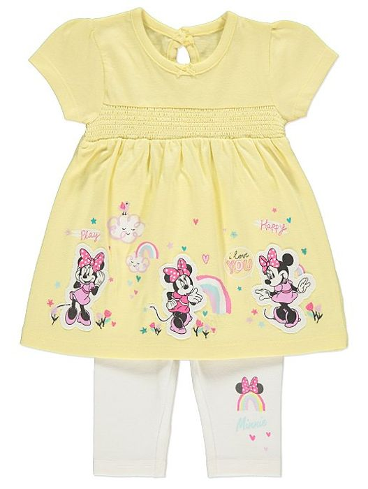 Disney Minnie Mouse T-Shirt and Leggings Outfit