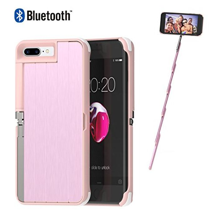 iPhone Case and Selfie stick..(Use the code below)