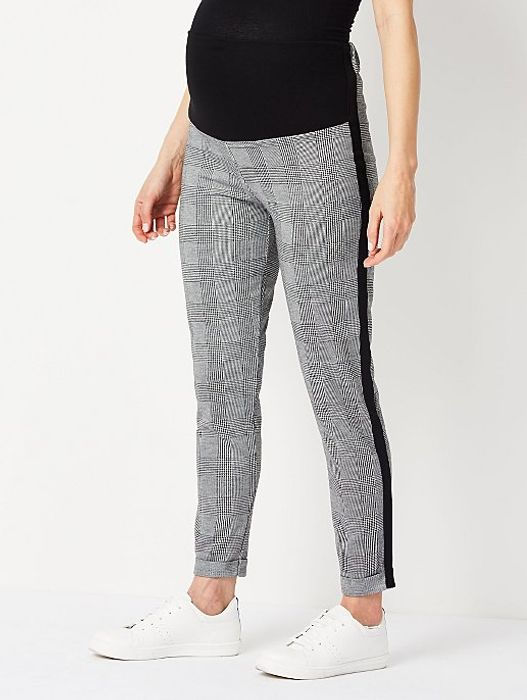 Maternity Check Overbump trousers