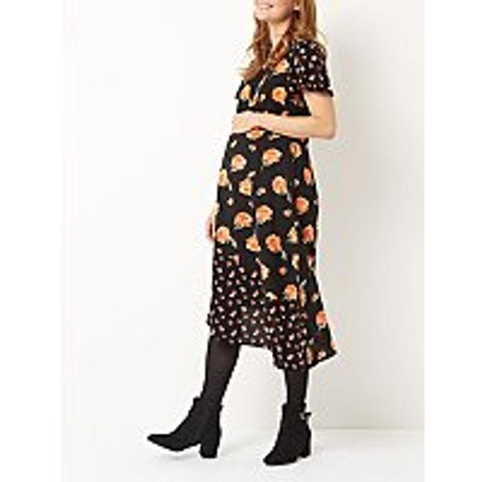 Maternity Floral Dress - SAVE £6