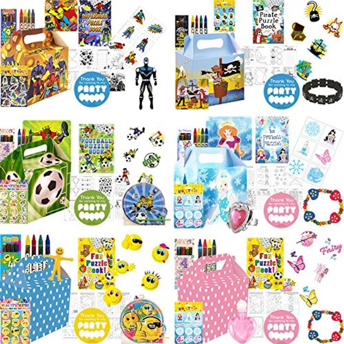 Themed Birthday Party Bags For £2.09