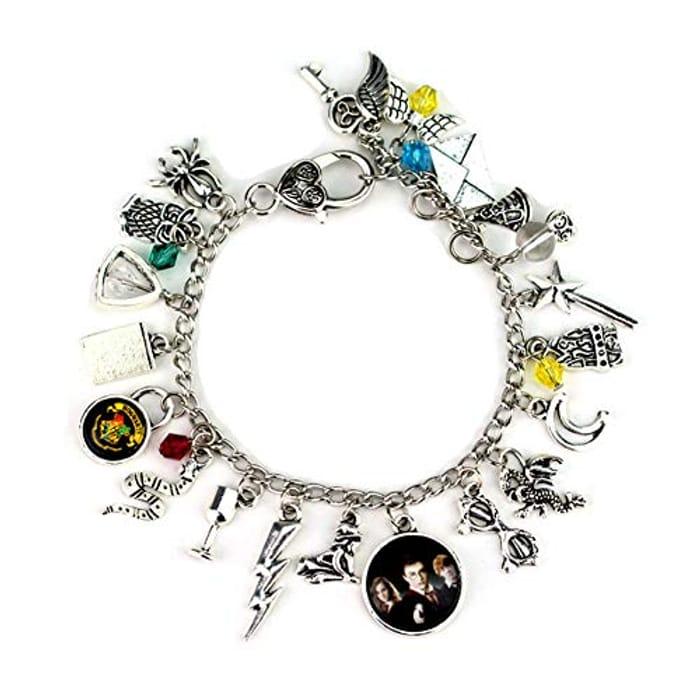 Stunning Harry Potter Charm Bracelet