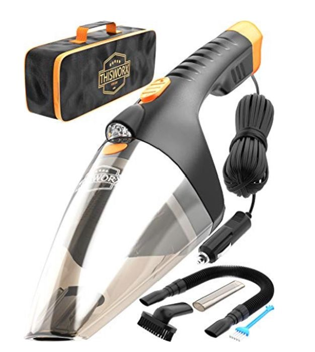 ThisWorx for Car Vacuum Cleaner TWC-02 - Reliable 12v Hoover - 65% Off