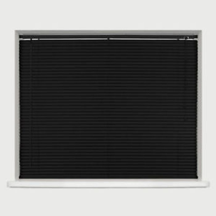 SALE/STOCK CLEARANCE - ANY SIZE - PVC VENETIAN BLINDS - BLACK Only £6.99