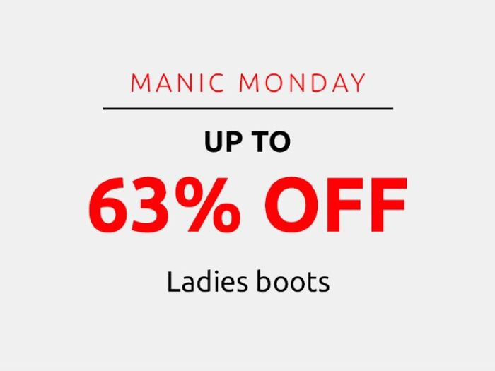 Save up to 63% on Ladies Boots