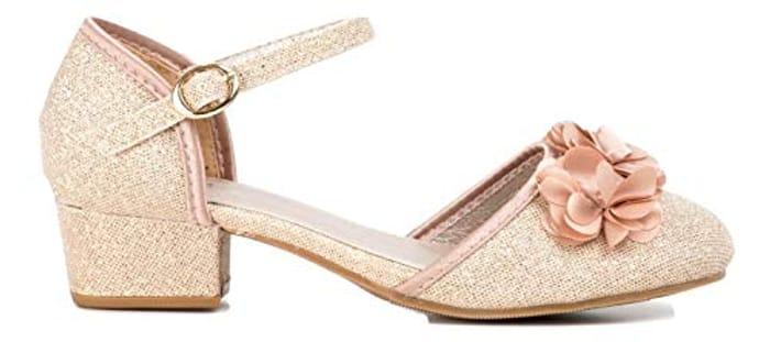 6fc5d4e7498b4 Redfoot Girls Pink Glitter Sandals - Price Error, £2.50 at Amazon ...