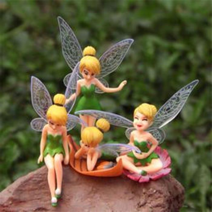 Tinkerbell Garden Figures