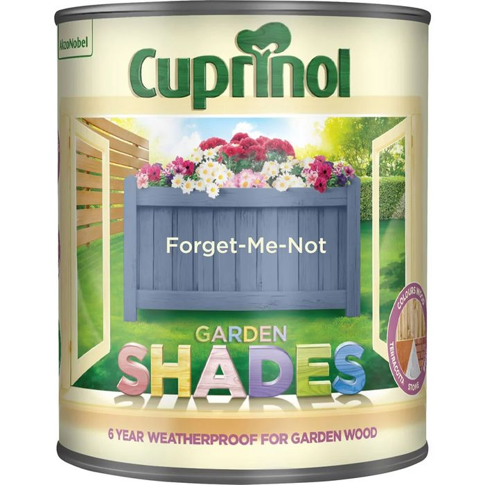 Cuprinol Garden Shades Forget Me Not Exterior Paint 1L